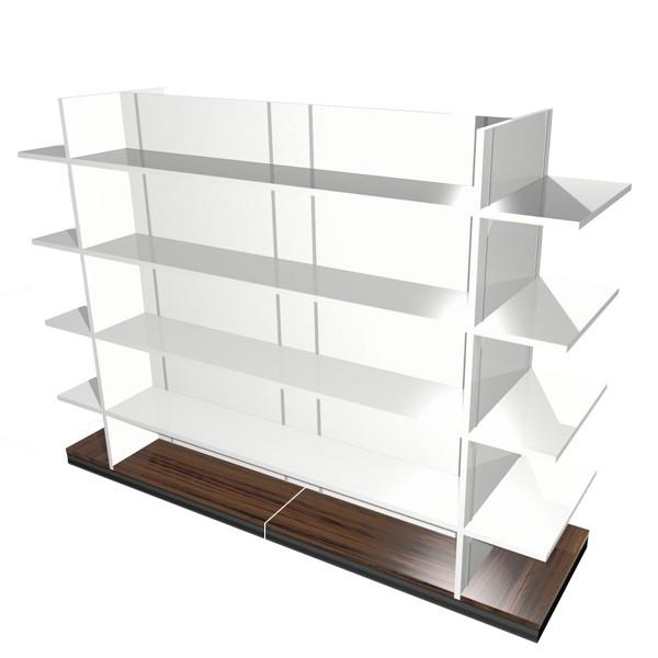 mobilier de pharmacie gondole m medium. Black Bedroom Furniture Sets. Home Design Ideas